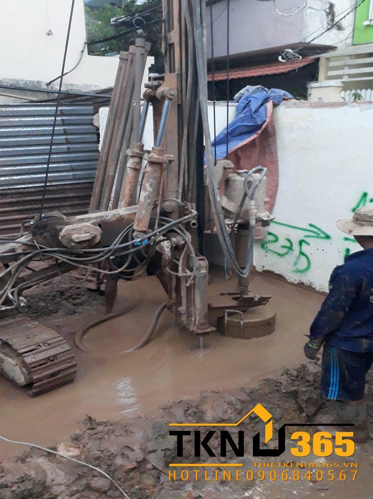 Gia công và thả lồng thép vào ống đổ trong thi công khoan cọc nhồi 1