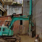 Xử lý đất nền yếu khi thi công khoan cọc nhồi trong hẻm nhỏ